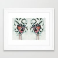 bugs Framed Art Prints featuring Bugs by Vanitylife