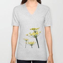 Fennel flowers Unisex V-Neck