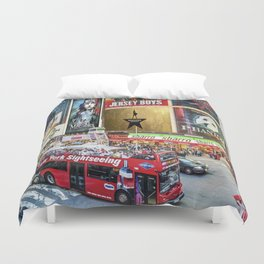 Times Square II Duvet Cover