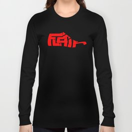 Flair Graffiti Art on Shoe Last Long Sleeve T-shirt