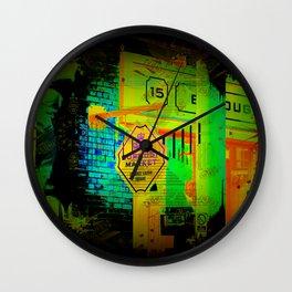 Borough Market  -  London, England Wall Clock