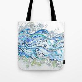 Ocean Seaweed Tote Bag