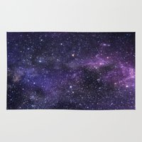 cosmic Area & Throw Rugs featuring Cosmic by Marta Olga Klara