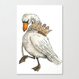 Dunstable Swan Canvas Print