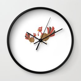 Thankful because I'm going to be a Big Brother T-Shirt Wall Clock