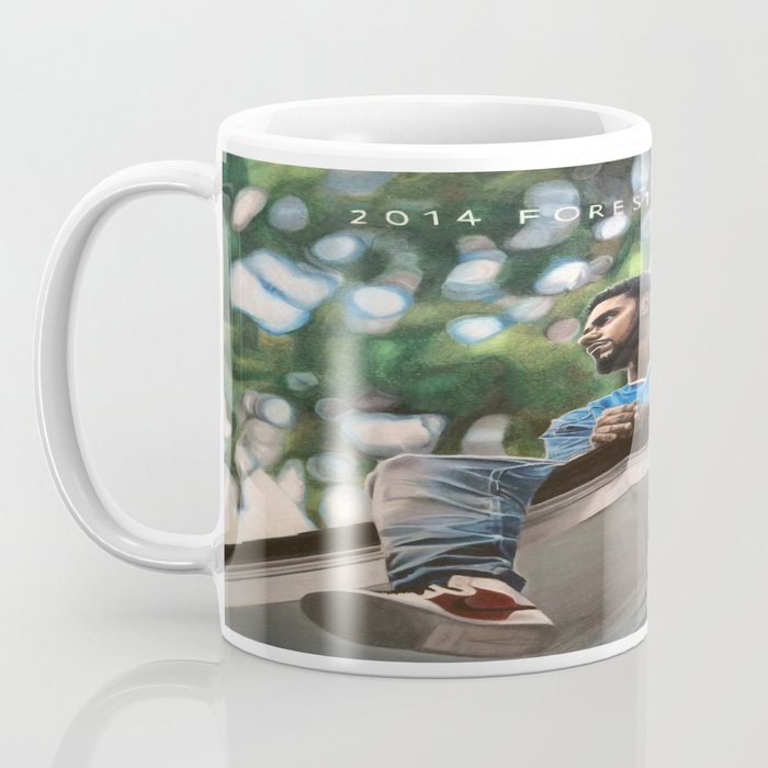 J.Cole 2014 Forest Hills Drive Drawing Coffee Mug