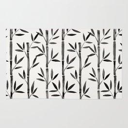 Black Bamboo Rug