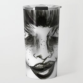 Dark Wave Swells Travel Mug