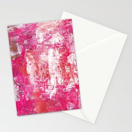 Roses Play Color On Ice Stationery Cards