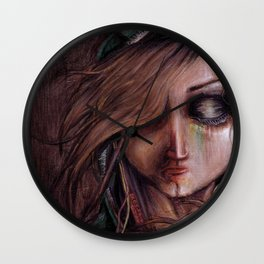 Disturbance of the pain-sensitive structures in my head Wall Clock
