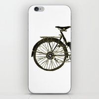 bicycle iPhone & iPod Skins featuring Bicycle by chyworks