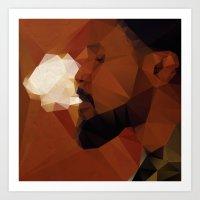 django Art Prints featuring Django by David