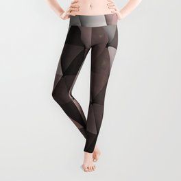 Triangles Putty Mauve Leggings