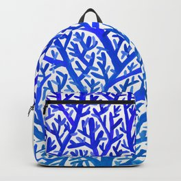 Fan Coral – Blue Ombré Backpack