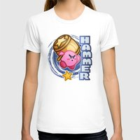 kirby T-shirts featuring Kirby Hammer by likelikes