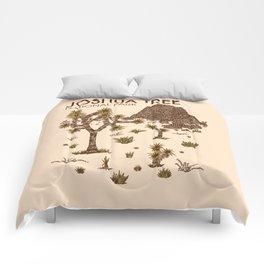 Joshua Tree National Park Comforters