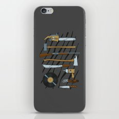 Horrible Weapons iPhone & iPod Skin