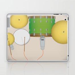 Drum Set Print Laptop & iPad Skin