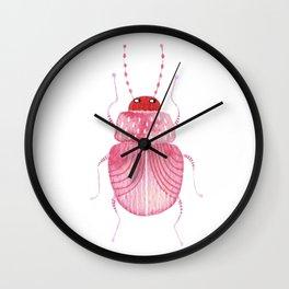 Sarcastic Beetle Wall Clock