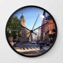 Nolita Spring Wall Clock