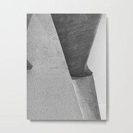 Ronchamp Chapel Metal Print