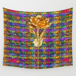"""Rose Facination"" Wall Tapestry"