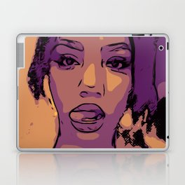Purple Lip Licker Laptop & iPad Skin