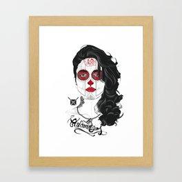 Legging Chicaneuse Framed Art Print