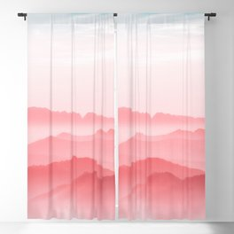 Mountains Layers Blackout Curtain