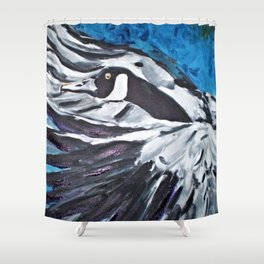 Departure (Canada Goose) Shower Curtain