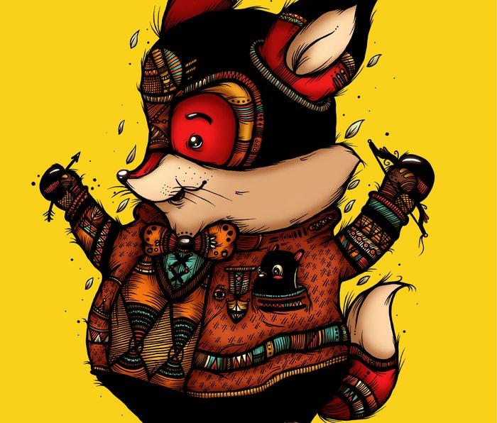 Archer of the Woods Metal Travel Mug