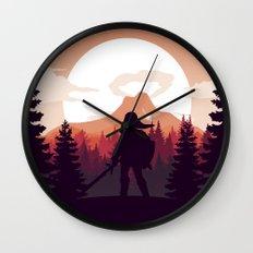 The Legend of Zelda - Orange Version Wall Clock
