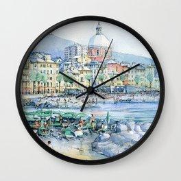 Pegli d'estate Wall Clock