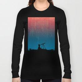 Meteor Rain (light version) Long Sleeve T-shirt