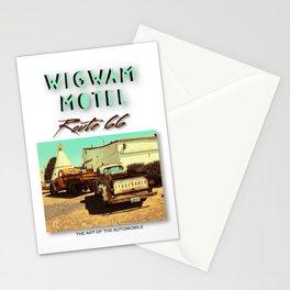 TRUCKS AT WIGWAM MOTEL Stationery Cards
