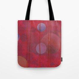 reddish sphere Tote Bag
