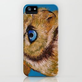 Gold Owl iPhone Case