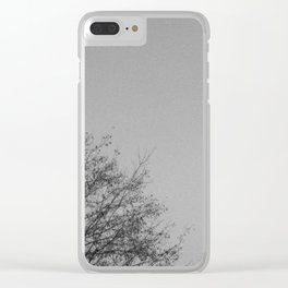 Gris (grey) Clear iPhone Case