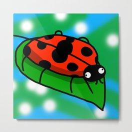 Ladybuggo | Veronica Nagorny Metal Print