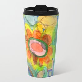 A closer Look at the Flower Universe Travel Mug