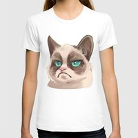 grumpy T-shirts featuring Grumpy by Corelle_Vairel