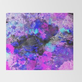 Velocity - Abstract Throw Blanket