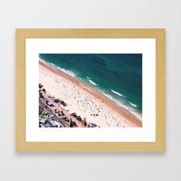 Day of Beach Framed Art Print