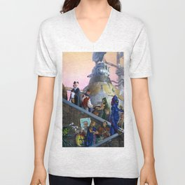 Immigrants Unisex V-Neck