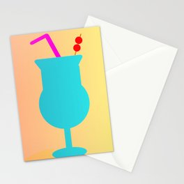 Mai Tai Stationery Cards