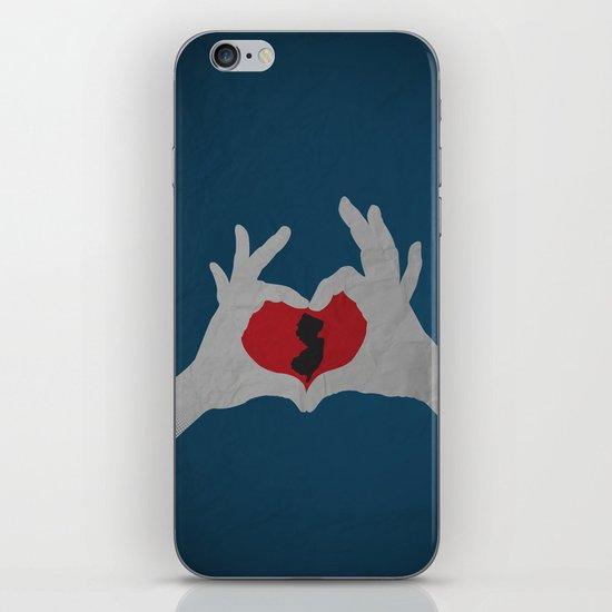 I  Heart NJ iPhone & iPod Skin