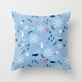 Merry X'mas Throw Pillow