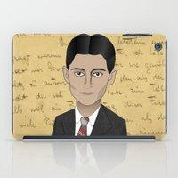 kafka iPad Cases featuring Kafka by Pendientera