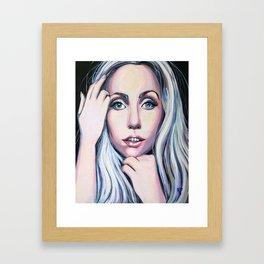 Ga Ga Glam Shot Framed Art Print