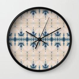 Royal Shibori Wall Clock